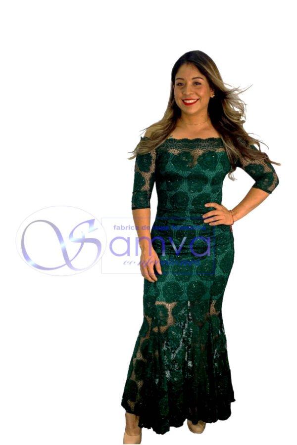 vestido largo ultimas tendencias de moda